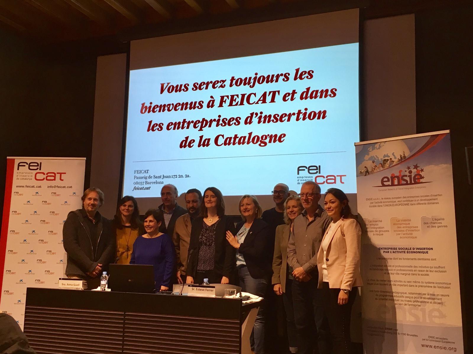 La inserció laboral com a repte de futur centra una jornada europea a Girona