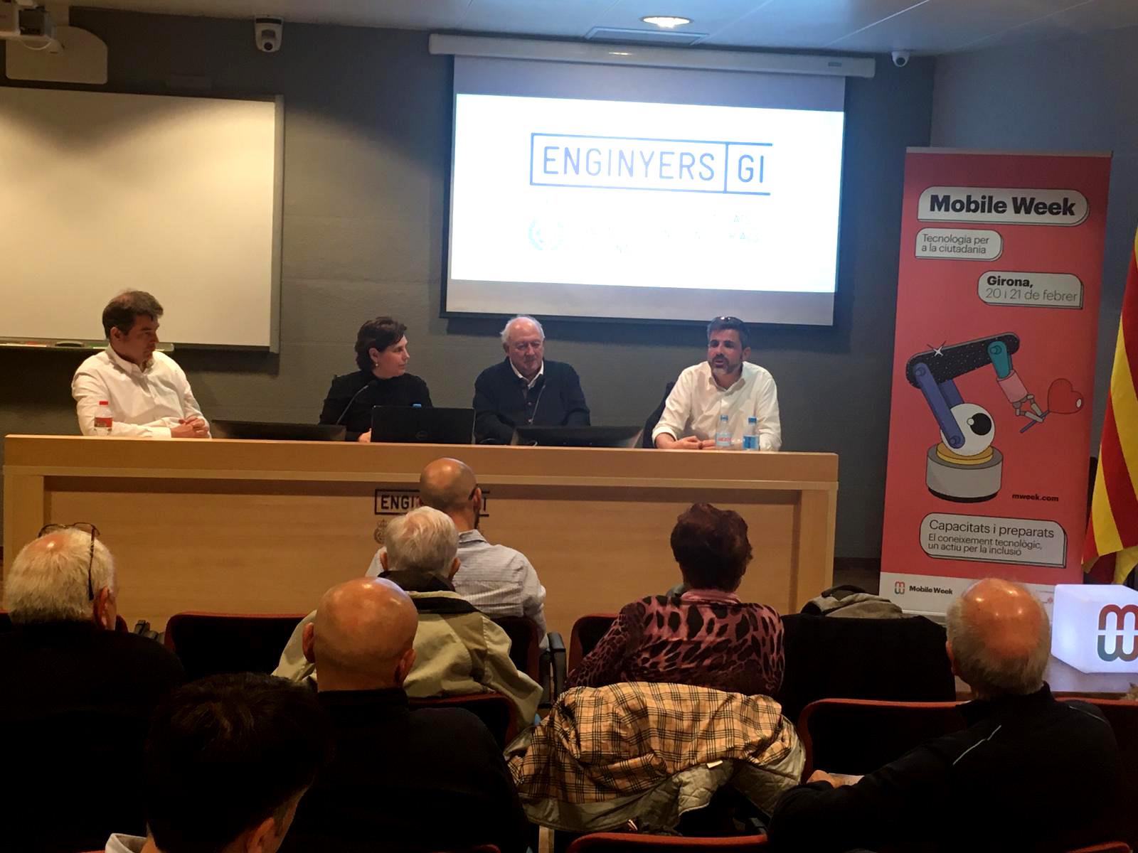 Ecosol participa a la taula rodona 'Enginys, inclusió i persones, un debat necessari' en el marc de la Mobile Week Girona 2020