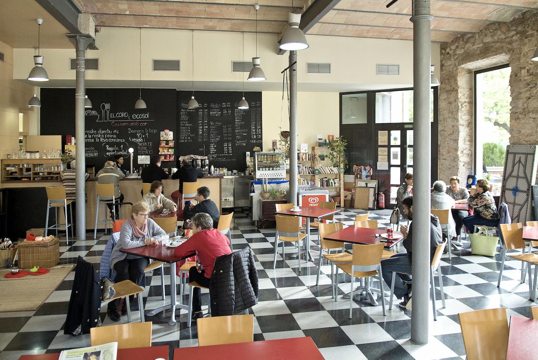 Cafeteria El Coro - vista interior