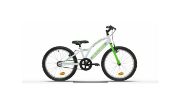 bici racer color blanc